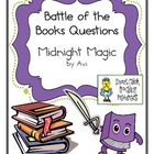 "Battle of the Books Questions: ""Midnight Magic"", by Avi"