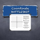 Battleship Plotting Points Coordinate Plane Math Competition Game