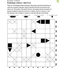 Battleships kids puzzle - 50 worksheets - Pack 1