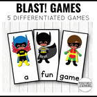 Batty Blast! Phonics Game