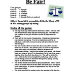 Be Fair! Social Simulation