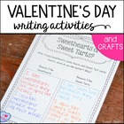 Be Mine, Valentine! {Valentine&#039;s Day Writing Activities &amp; Crafts}