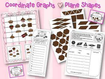 Be My Chocolate Valentine Math and Literacy Centers