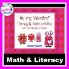 Be My Valentine! 8 Literacy &amp; Math Activities with the Mon
