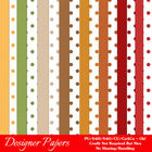 Be Thankful Thanksgiving Colors Digital Papers Package 3