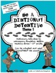 Be a Dictionary Detective-Reference Skills Practice (Theme 1)