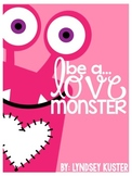 Be a Love Monster! {Valentine Activities All About Love an