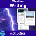 Be a Meteorologist Writing Freebie