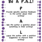 Be a PAL and help EDIT! Peer editing pack!! Grades 3-5