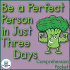 Be a Perfect Person in Just 3 Days! Comprehension Question Packet