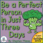 Be a Perfect Person in Just 3 Days! Novel Unit Common Core
