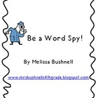 Be a Word Spy