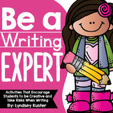 Be a Writing Expert! {Beginning of the Year Activities Tha