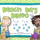 Beach Day BINGO {Summer or End of the Year Fun}