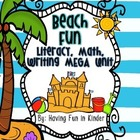 Beach Fun - Literacy, Math, and Writing MEGA Unit