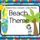 Beach &amp; Ocean Classroom Decorations: Classroom Design Collections
