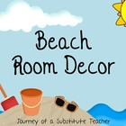 Beach Room Decor Pack