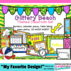 Beach Themed Classroom Resources