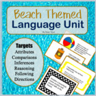 Beach Themed Language Unit