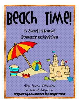 Beach Time! {5 Beach Themed Literacy Activities}
