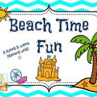 Beach Time Fun~ Literacy Unit