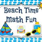 Beach Time Math Fun!