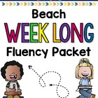 Beach Weeklong Fluency Packet