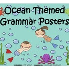 Beach and Ocean Themed Grammar Posters