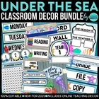 Beach~Ocean~Tropical Themed Classroom Kit ~ Ideas and Printables
