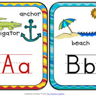Beachin' It Classroom Theme