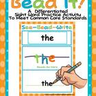 Bead It-Differentiated Dolch Levels 6-7  Word Practice for