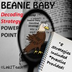 Beanie Baby Decoding Strategy Powerpoint Lessons