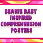 Beanie Baby Inspired Comprehension Strategies Posters