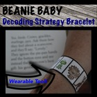 Beanie Baby Inspired Decoding Strategies Bracelets