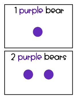 Bear Counting Cards