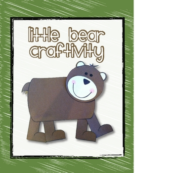 Bear Craftivity with Writing Page