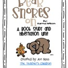 Bear Snores On - A Book and Hibernation Study