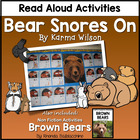 Bear Snores On {Math and Literacy Activities}