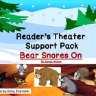 Bear Snores On - Reader's Theater Support Pack