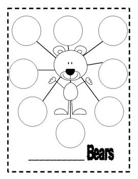 Bear unit with math, literacy, and art