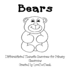 Bears:  Literacy and Math Center Fun