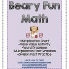 FREE Beary Fun Math Activities