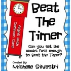 Beat The Timer - Telling Time Math Center
