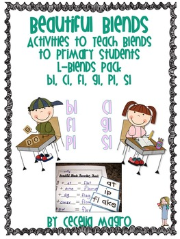 Beautiful Blends-Activities for Primary Students {L Blends}