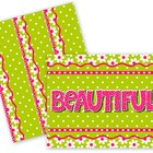 Beautiful Flowers Bulletin Board Set
