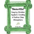 """Beautiful"" Sung by Christina Aguilera: Creating a Positiv"
