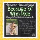 Because of Winn-Dixie Literature Guide - Common Core Align