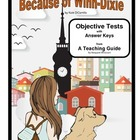Because of Winn-Dixie   Objective Tests