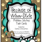 Because of Winn Dixie Story Problems