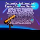 Become an Astronaut and Explore our Solar System!